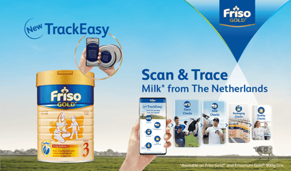 Friso Gold® TrackEasy Is Malaysia's First Smart Packaging For Milk