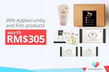 WIN Applecrumby And Fish products worth RM$305!