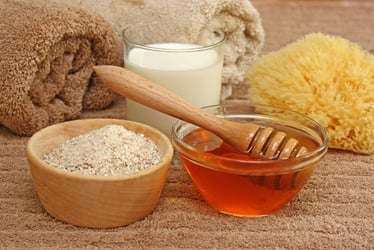 DIY skincare products made with ingredients in your kitchen