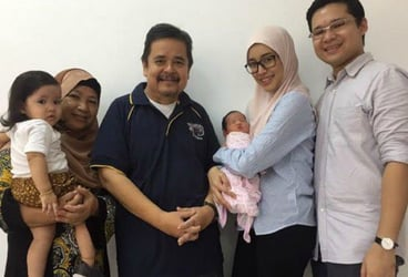 """Malaysia's First """"Uber Baby"""""""