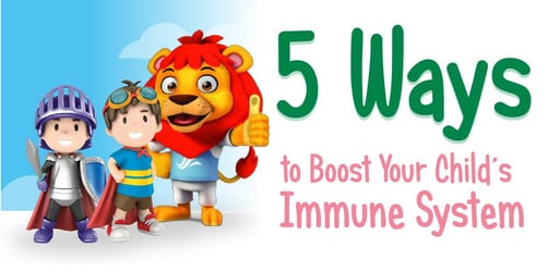 Want to boost your child's immune system? Here are 5 expert tips for you
