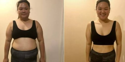 This woman lost more than 30kg in six months. Here's how she did it.