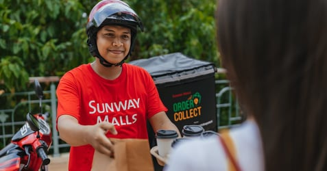 Food Delivery from Sunway Pyramid: Just 'Order & Collect' Your Family Meals from Multiple Retailers in ONE DELIVERY!