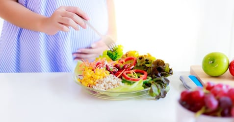 Staying Healthy For Your Developing Child: 6 Nutritional Diet Hacks for Busy Mummies