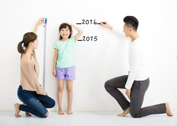 Markings On The Wall: Why Measuring Your Child's Height Is So Important