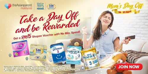"""Moms, Get Rewarded RM15 Shopee Voucher For """"Mom's Day Off"""" Super Brand Day! 19-21 April 2021"""