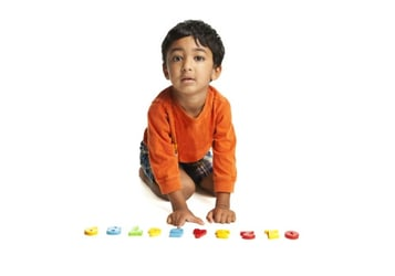 Natural math development in kids by age