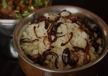 How to make ghee rice