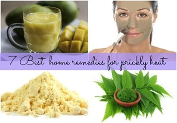 How to cure prickly heat- Seven natural home remedies
