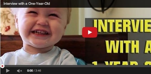 Funny baby video: Brilliant response by cute kid