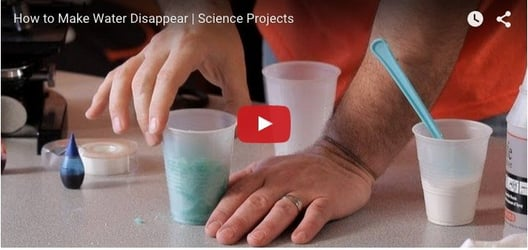 How to make water disappear? Must watch
