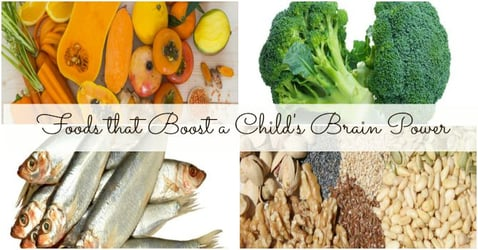 8 foods to improve your child's brain power