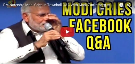 Speaking about 'Maa' makes Modi emotional