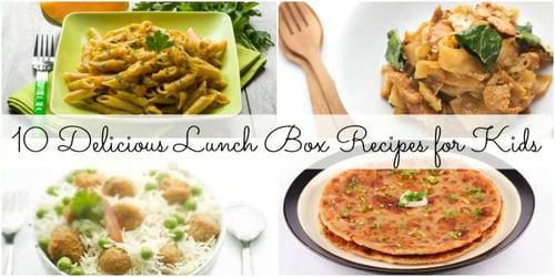 10 scrumptious lunch box recipes for kids