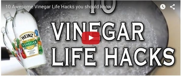 10 magical uses of vinegar to clean up your house