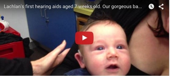 Video of 7-month-old baby hear mom for the first time goes viral