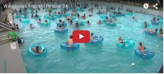 Can you spot the drowning child?