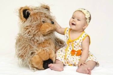 That cute teddy bear can cause food poisoning in children!