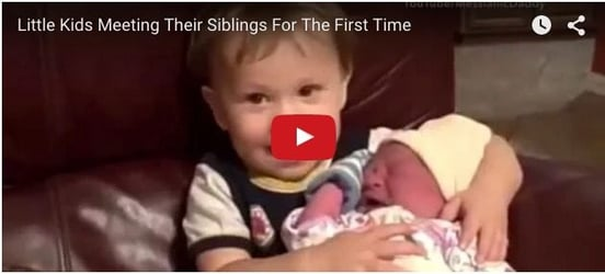 What happens when kids meet their siblings for the first time!