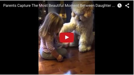 She teaches him how to shake hands: Adorable baby video