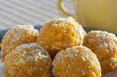 Traditional confinement foods: Recipe for Gondh ka laddoo