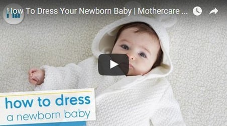 Quick and easy tips on how to dress up a newborn baby