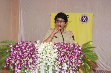 Leading by example: Thane police installs sanitary napkin vending machine for women officers