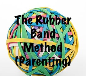 New-age parenting: Rubber band method of disciplining children