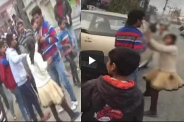 This video of a young girl thrashing her eve teaser in public must be shown to every Indian