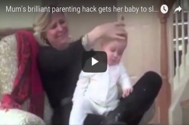Parenting hack: How to put your baby to sleep in under a minute