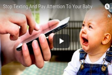Watch now: Texting can be harmful for your baby's emotional health