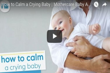 Here's how to calm your crying baby