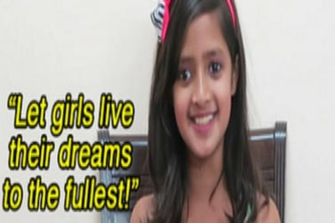 Watch: Here's what 5 little girls had to say when they were asked whether they feel safe in India