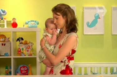 Watch: How to calm a crying baby in a few minutes