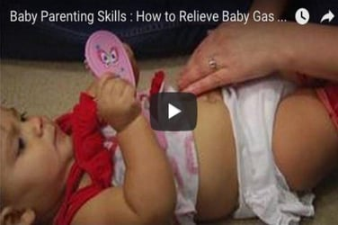 Watch: This is the easiest way to relieve your baby's gas (yes, really!)