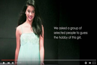 This super cool video tells you why you should never judge a girl by her looks