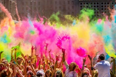 Say no to water: 5 incredible ways to celebrate a water-less Holi this year!