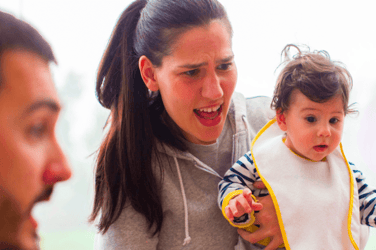 Your baby knows exactly when you are angry and is constantly attempting to appease you!