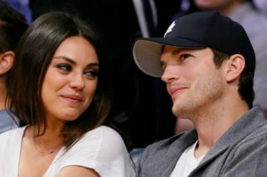 Ashton Kutcher says the best part about having a baby is his wife, Mila