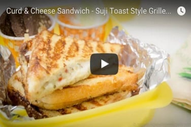 Easy lunch box recipe: Curd and cheese sandwich that your kids would love