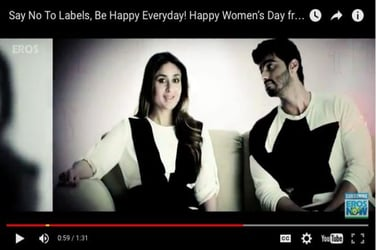 Just in: Kareena Kapoor Khan and Arjun Kapoor have a special message for Women's Day