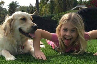Little girl left paralyzed after she fell doing backbends in their living room