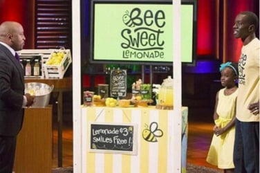 11-year-old girl becomes a millionaire by selling lemonade