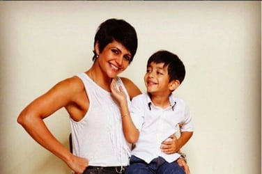 11 pics that prove Mandira Bedi is an awesome mother!