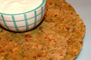 We bet your kids would love this vegetable parantha recipe! (Video Inside)