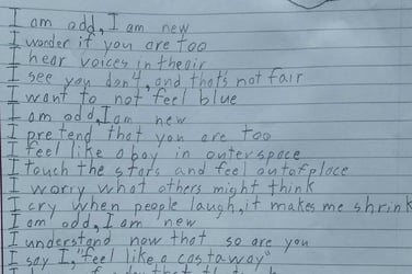 Viral poem by a ten-year-old describes what it's like to live with autism