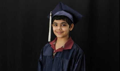 Child Prodigy: 12-Year-Old with three college degrees all set to become a doctor at 18!