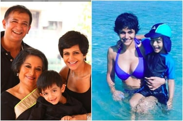 Depression is real for a new mum, says Mandira Bedi in an exclusive interview