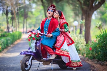 This Hindu-Muslim couple eloped and had the most beautiful wedding you'd ever imagine!
