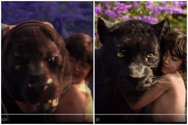 Real Vs Reel: This is how The Jungle Book looked like without the help of special effects